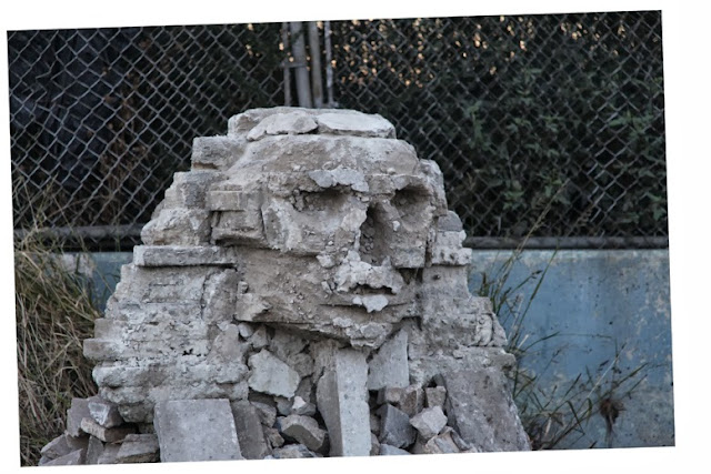 """Sphinx"" Sculpture By Banksy For ""Better Out Than In"" Day 22 New Piece In New York City. 1"