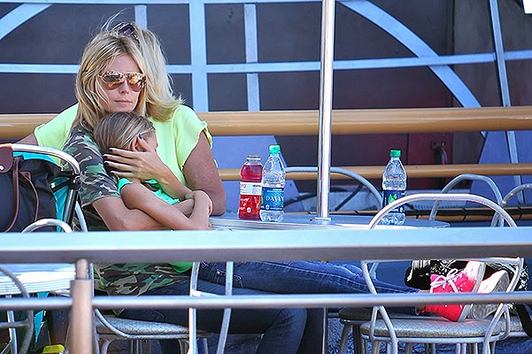 Heidi Klum with children