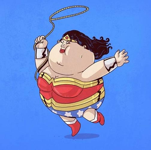 Толстые женщины комиксы 22594 фотография
