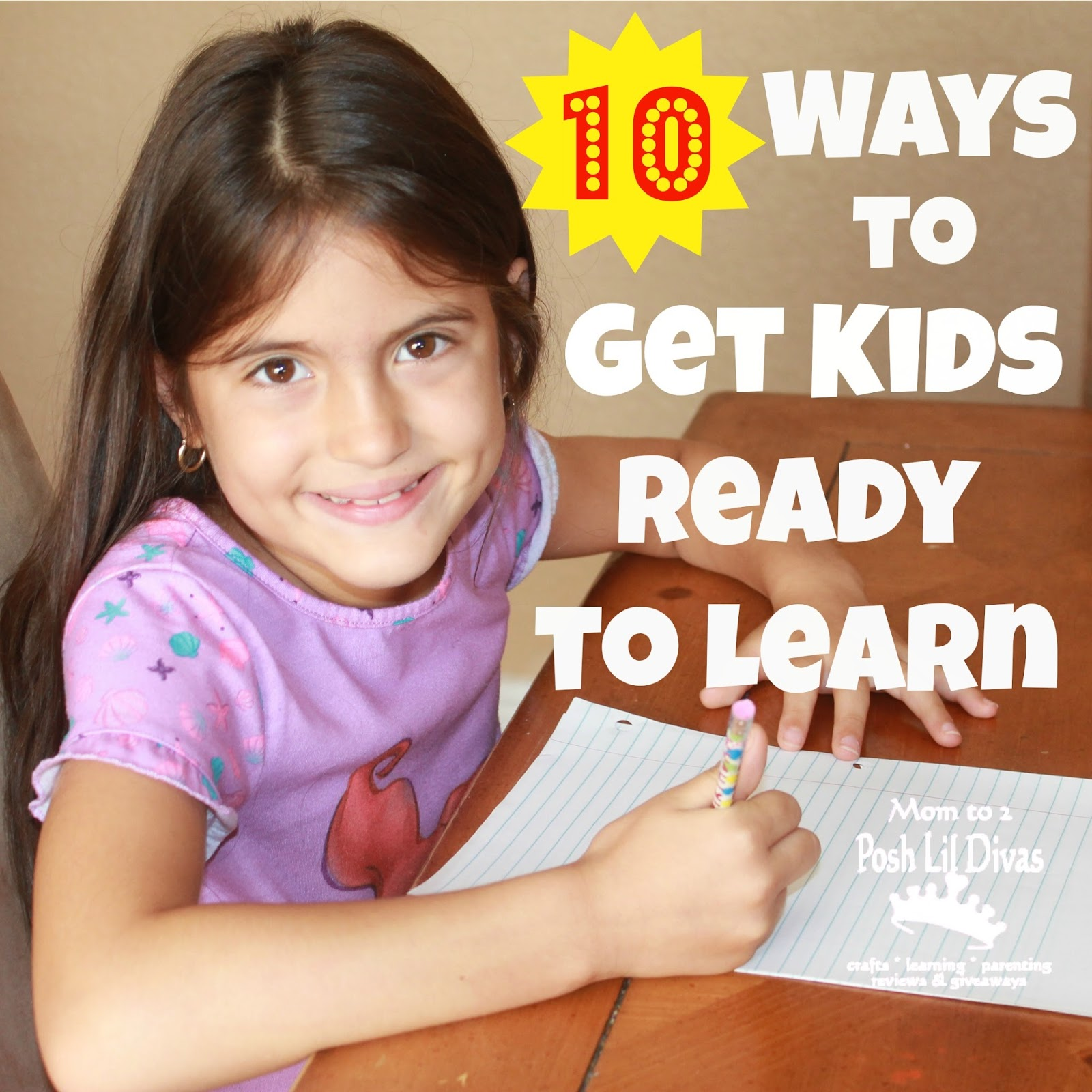How do you ensure that your kids are ready to learn when ...
