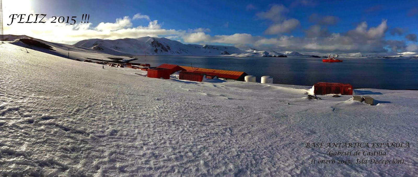 Feliz año desde la Antártida!!