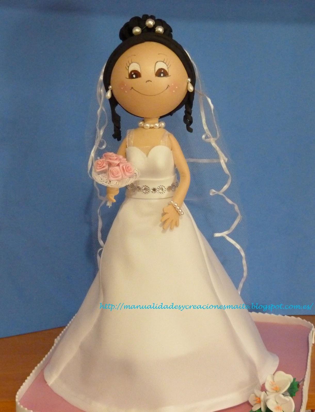 Molde vestido novia fofucha