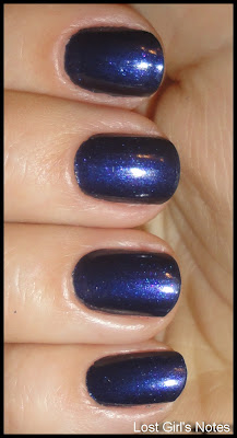 OPI play 'till midnight swatches
