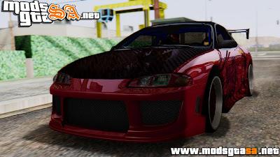 SA - Mitsubishi Eclipse GSX 1999 Mugi Itasha