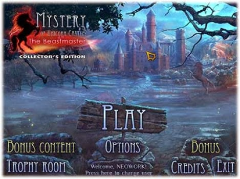 Mystery of Unicorn Castle The Beastmaster Collectors Edition v0.950.5