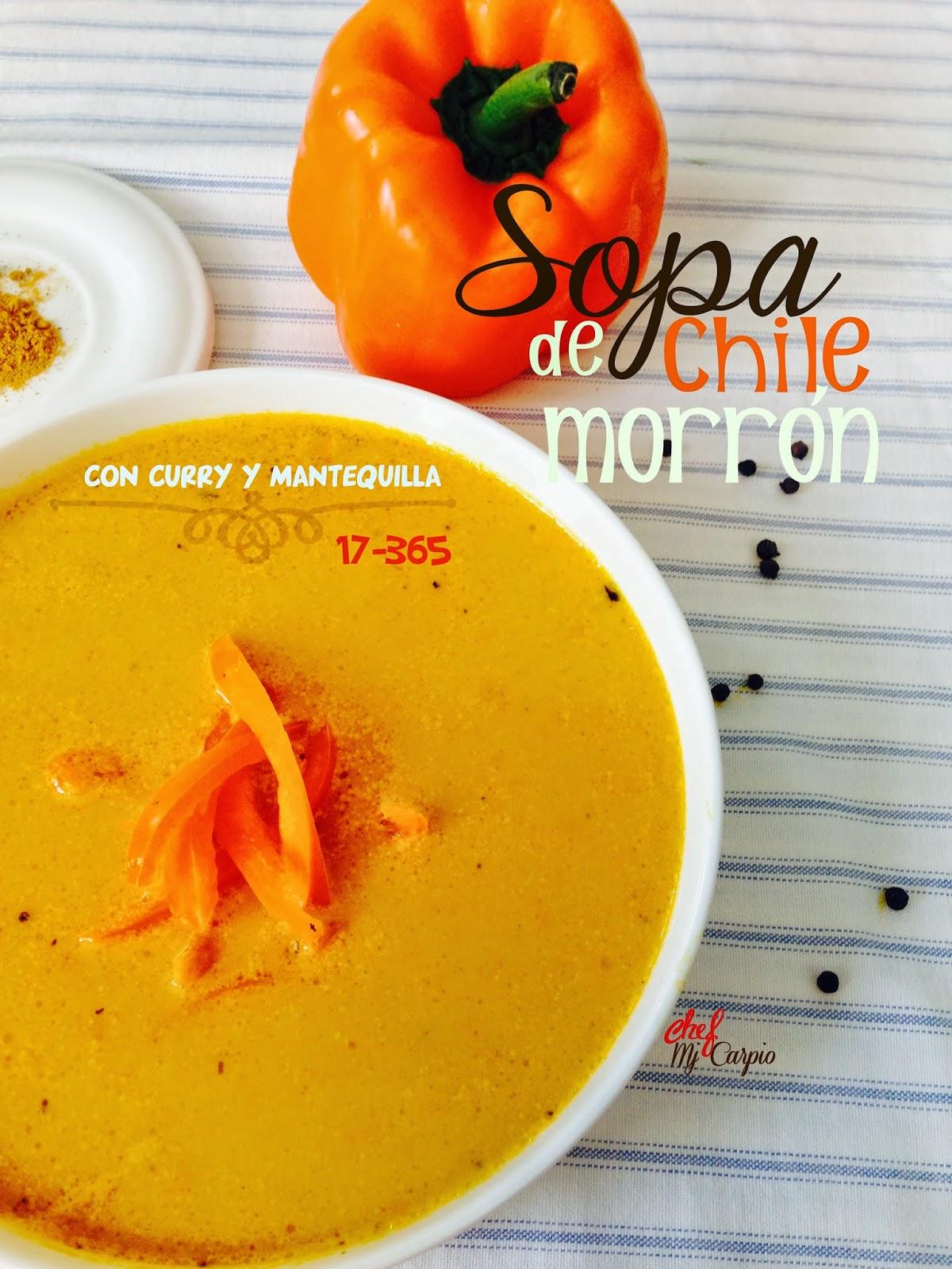 Sopa de Chile Morrón