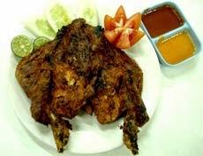 resep memasak ayam bakar taliwang enak