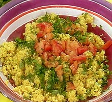 Weight Loss Recipes : Vegetable Couscous