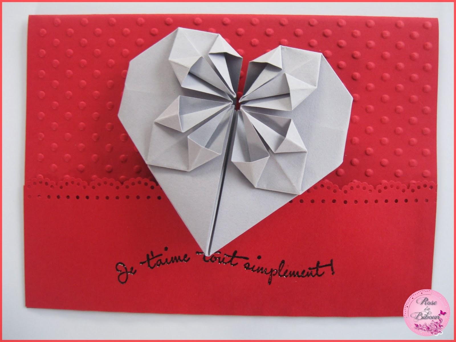 rose de biboun papeterie de saint valentin carterie kits et tampons grav s la main. Black Bedroom Furniture Sets. Home Design Ideas