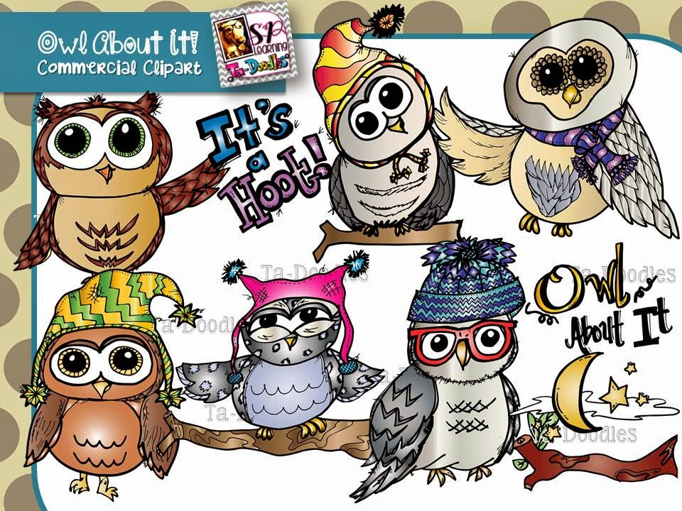 http://www.teacherspayteachers.com/Product/Owl-Clip-Art-1443478