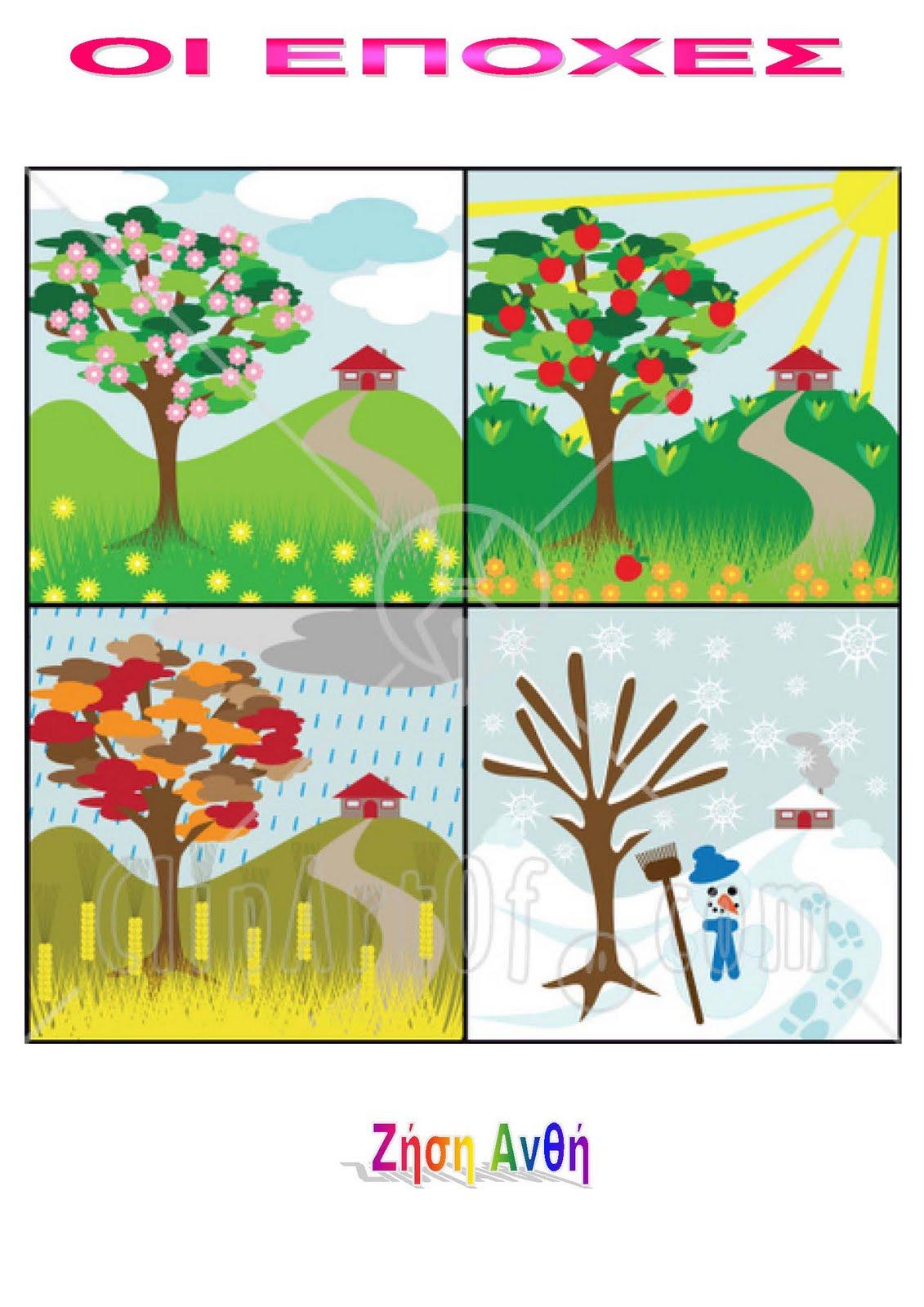 Τα δέντρα και η φύση σε κάθε εποχή
