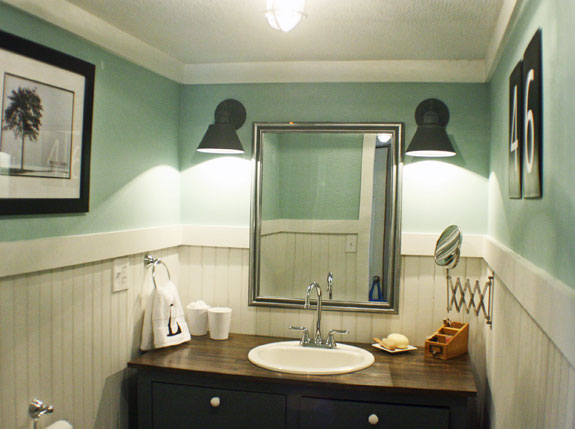 Bathroom Makeover Reveal The Shabby Creek Cottage - Redo my bathroom