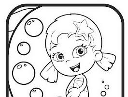Bubble Guppies Coloring Sheets