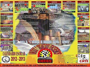 CALENDARIO ESCOLAR 2012.-2013