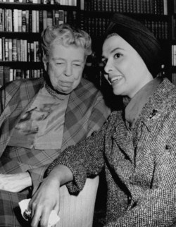 Eleanor Roosevelt and Lena Horne