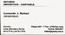 Estudio Impositivo Contable Leonardo J. Rattari