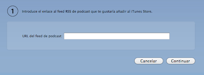 Subir podcast a iTunes