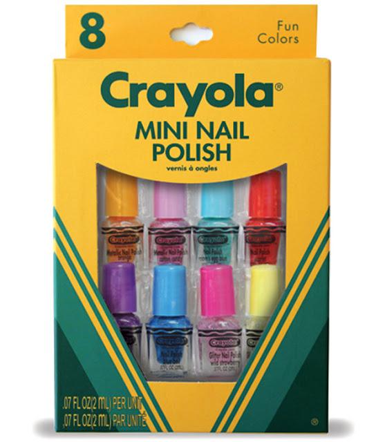 Crayola nail set packaging