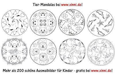 Malvorlagen Mandalas - JetztMalen de