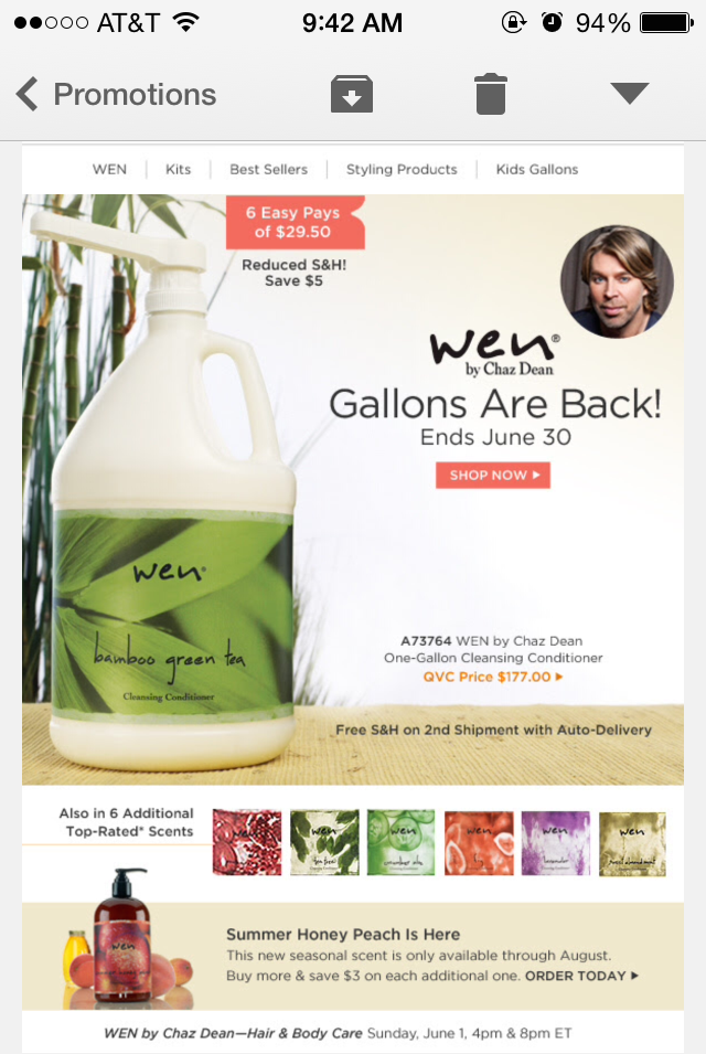 I totally recommend buying the gallon jugs just look below at the photo QVC made to show you the amount you're saving. Which is a lot!