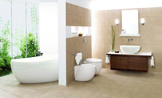 Home design interior minimalist bathroom design - Villeroy boch salle de bain ...