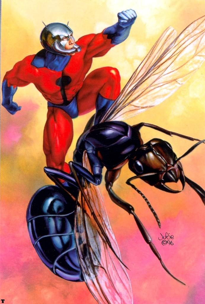 Aqui viene el Hombre Hormiga!
