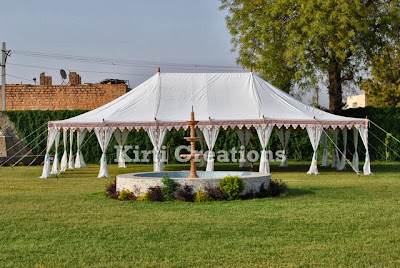 Magnificent Handmade Tent
