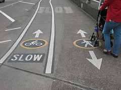 Pedestrian untuk kaum difabel