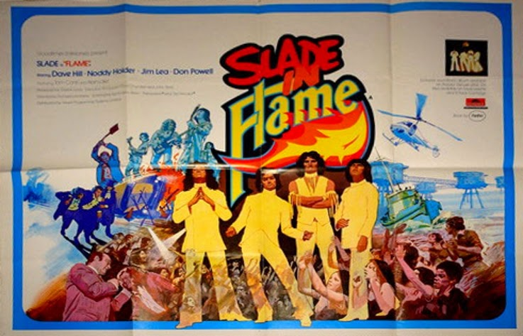Slade In Flame poster