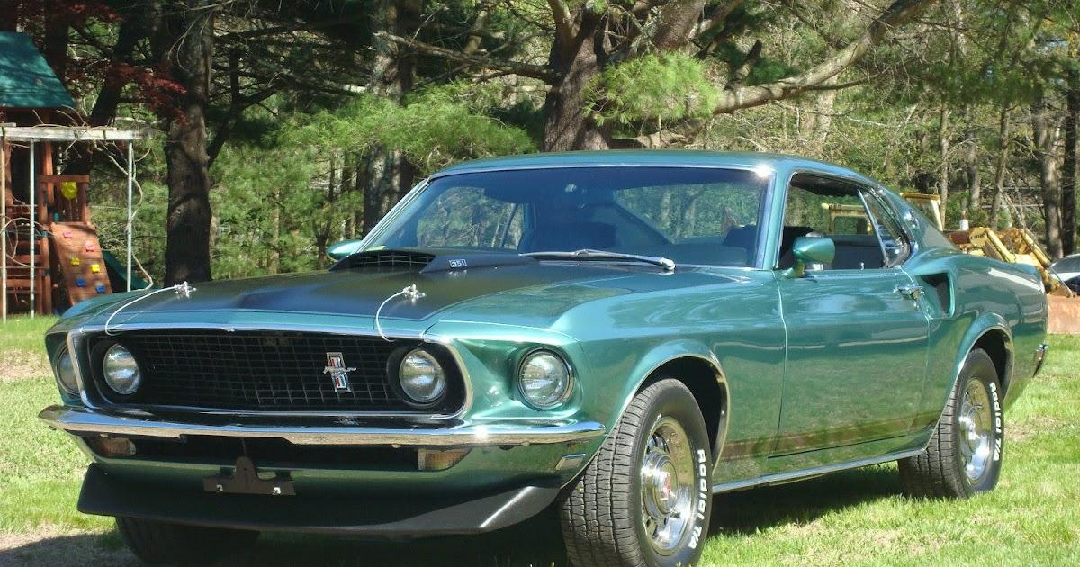 1969 Mustang Gt Fastback Rotisserie Restored For Sale
