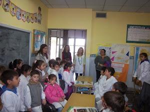 Hoy nos visitaron alumnos de 1er grado Escuela Nº 34