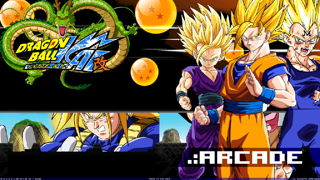Dragon Ball KAI MUGEN 2015 PC Game Download