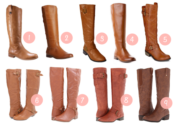 Putting Me Together: Fall Shopping: Cognac Boots