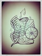 Un petit flash que j'avais dessinez pour un potentiel tatouage mais qui .