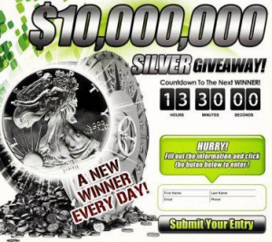SIGN-UP for the SILVER GIVE-AWAY!