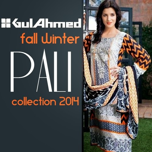 Gul Ahmed Winter Catalog 2014