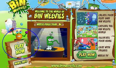 Binweevils Login