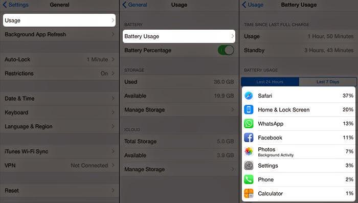 battery fix iOS 8.2