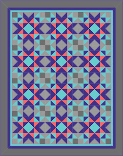Ravelry: Barn Raising Quilt pattern by Shelley Mackie