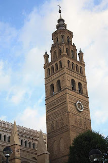 Bell tower of the Cathedral of Tarazona