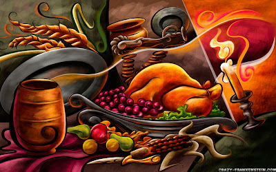 Free Thanksgiving PowerPoint Background 30