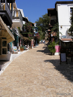 Kaş old town Turkey