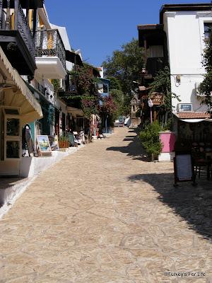 Kaş old town Turkey