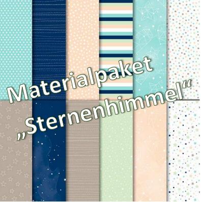 "Designerpapier & Farbkarton ""Sternenhimmel"""