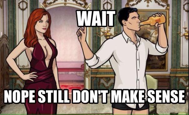 wait nope still don't make sense. - #sense #drink #man #woman
