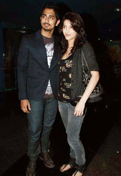 Shruti Haasan - Siddharth, Shruti Girl Friend - Boy Friend Pics