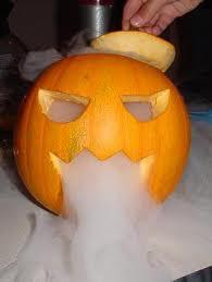 Experimentos Caseros halloween humo hielo seco