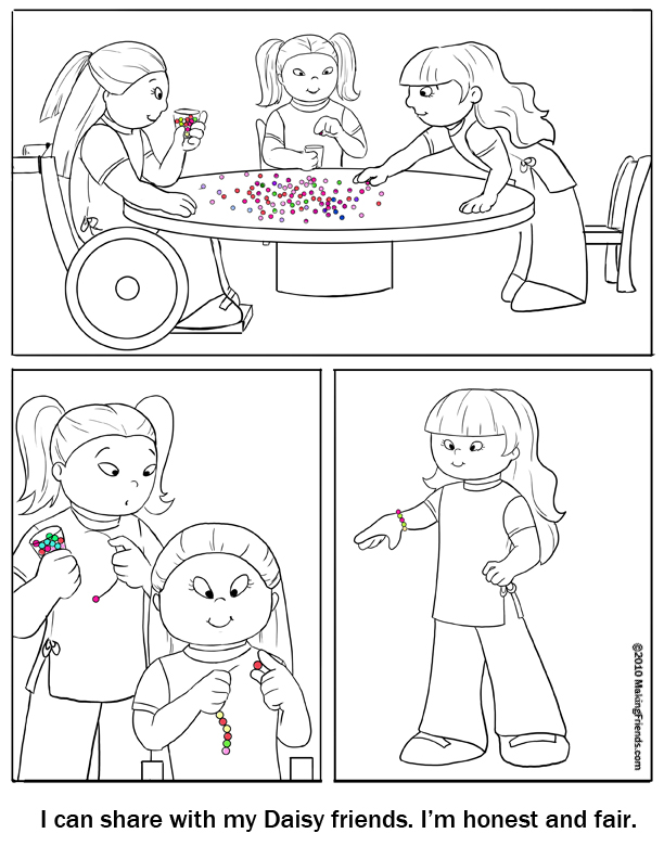 lupe daisy coloring pages - photo#5