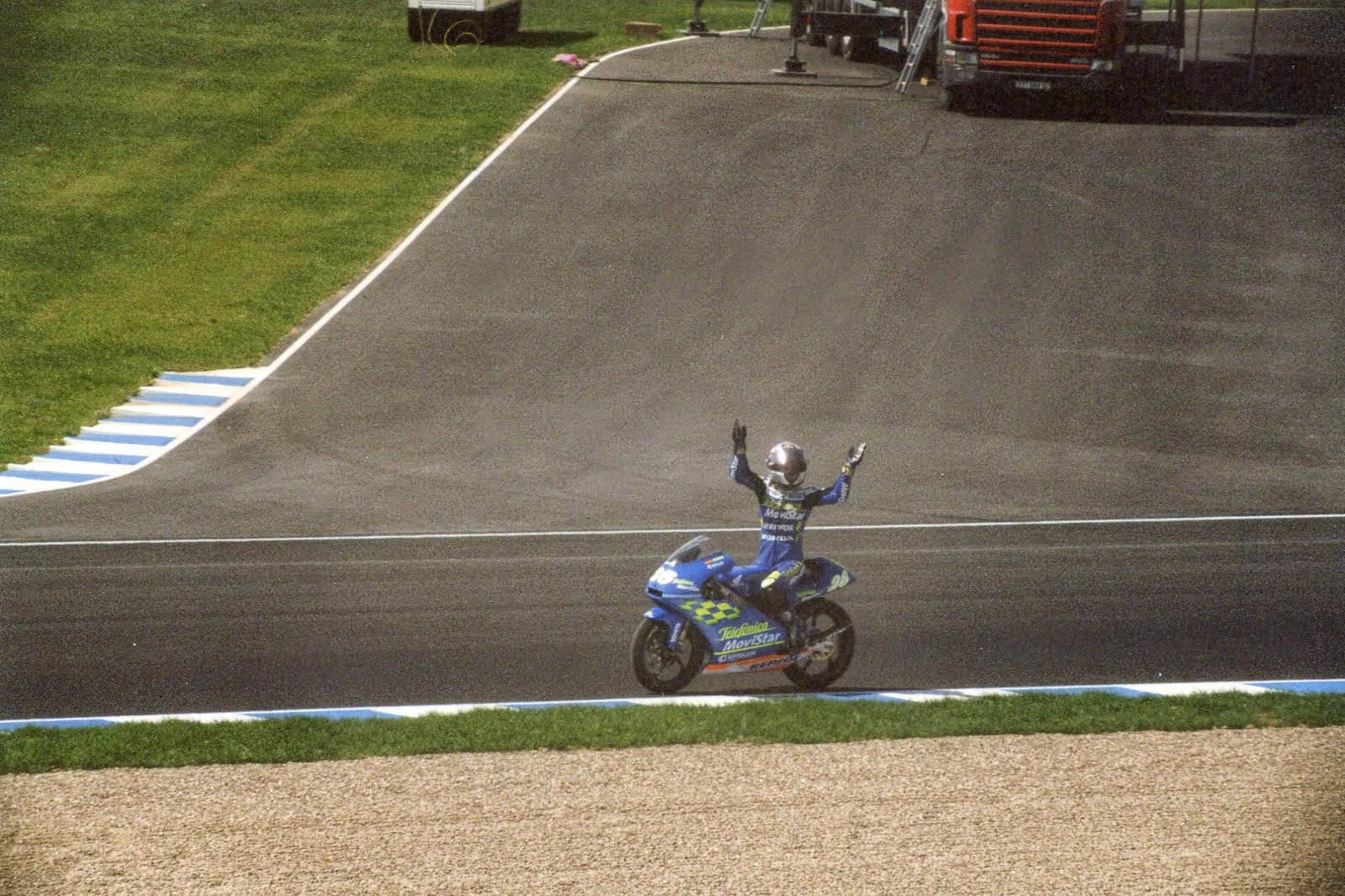 victoria de Dani Pedrosa en Jerez 2002