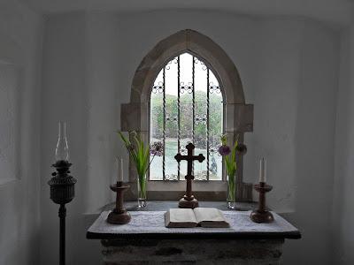 Inside St Nicholas Chapel Ilfracombe